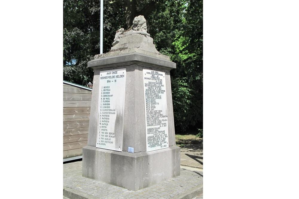 War Memorial Scherpenheuvel