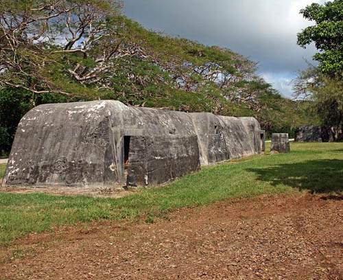 Japanese Air Raid Shelters Flame Tree Road (Saipan)