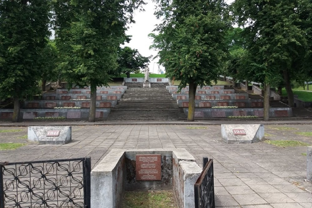 Soviet War Cemetery Jonava