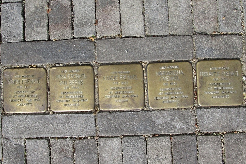 Remembrance Stones Hoofdstraat 177