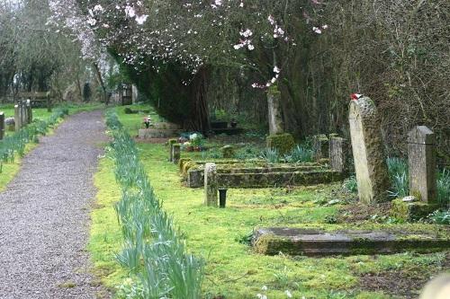 Commonwealth War Grave Sapperton New Churchyard