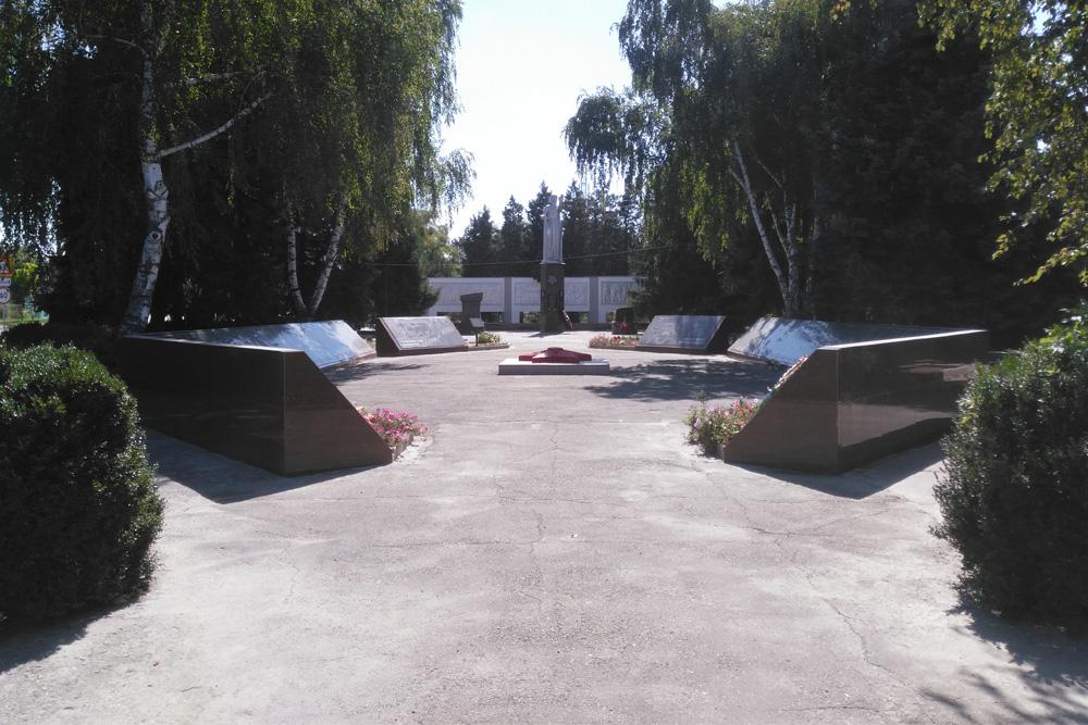 Anastasiyevskaya Soviet War Cemetery