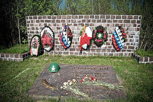 Field Grave Russian Soldier