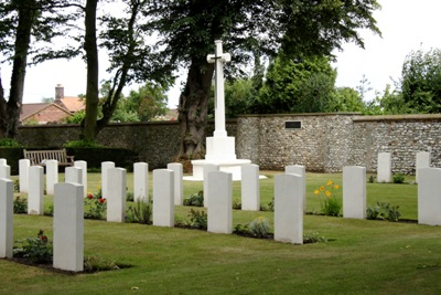 Commonwealth War Graves St. Mary Churchyard