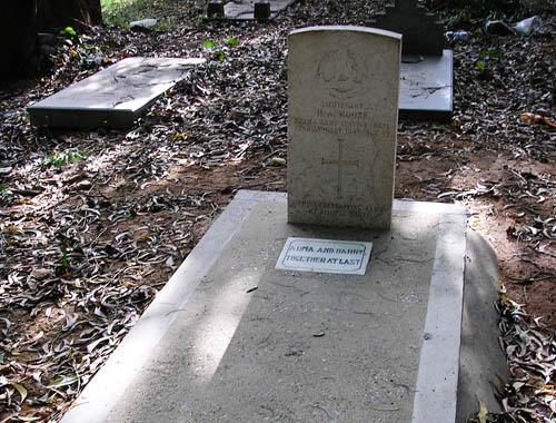 Commonwealth War Grave Bangalore
