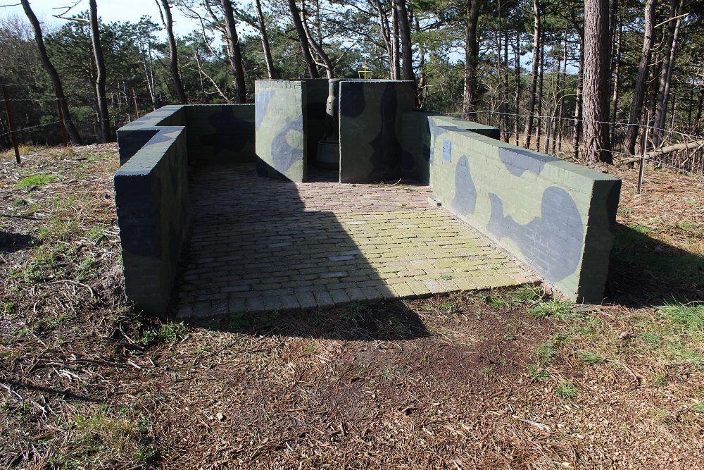 Duitse Radarstelling Tiger - Open Opstelling Mtrailleur