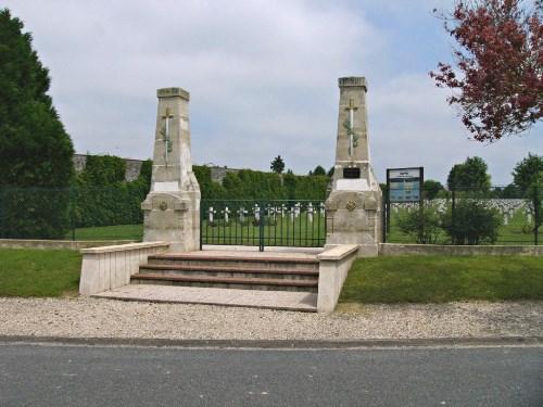 Franse Oorlogsbegraafplaats Suippes-Ville