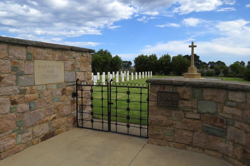 Commonwealth War Cemetery Bairnsdale