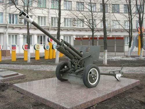 76mm (ZIS-3) Model 1942 Kanon St. Petersburg