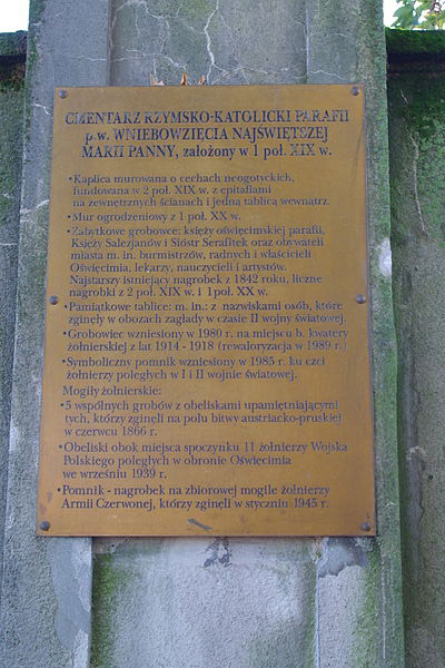 Soviet War Graves Oswiecim