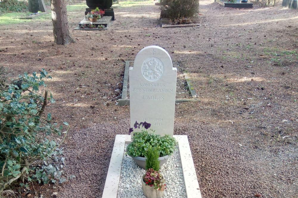 Nederlands Oorlogsgraf Gemeentelijke Begraafplaats Kerkrade