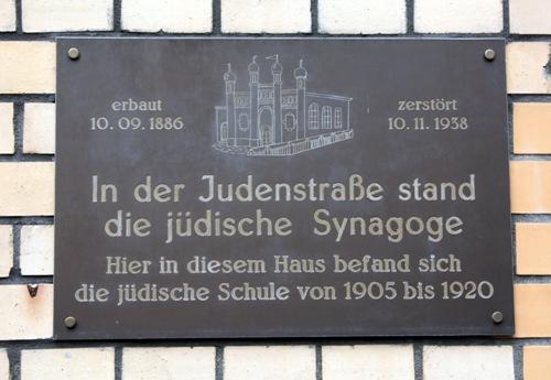 Plaque Synagogue Lechenich