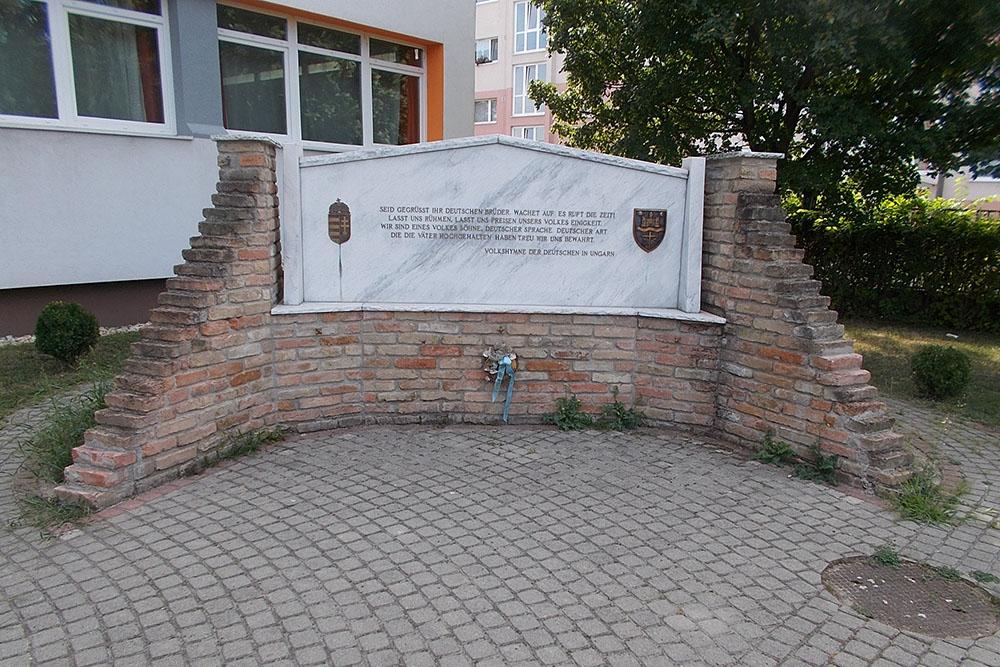 Monument Volksduitsers Mosonmagyaróvár
