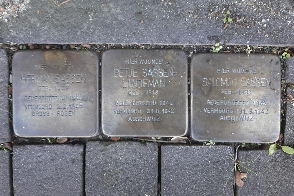 Stumbling Stones Rijksweg Zuid 84