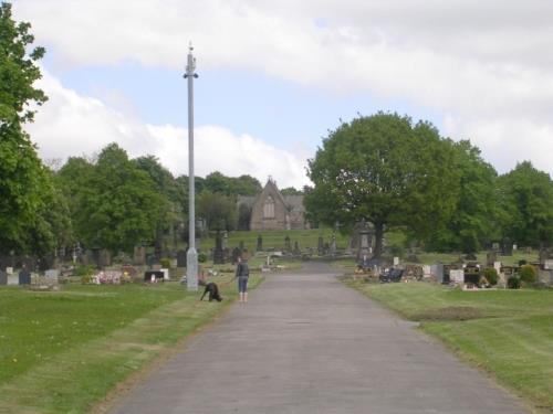 Oorlogsgraven van het Gemenebest Dewsbury Cemetery