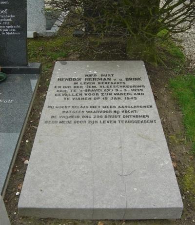 Nederlandse Oorlogsgraven Vianen