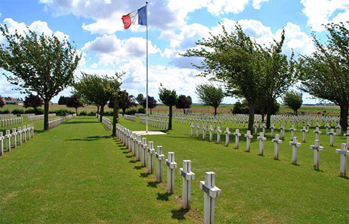 French War Cemetery Dompierre-Becquincourt