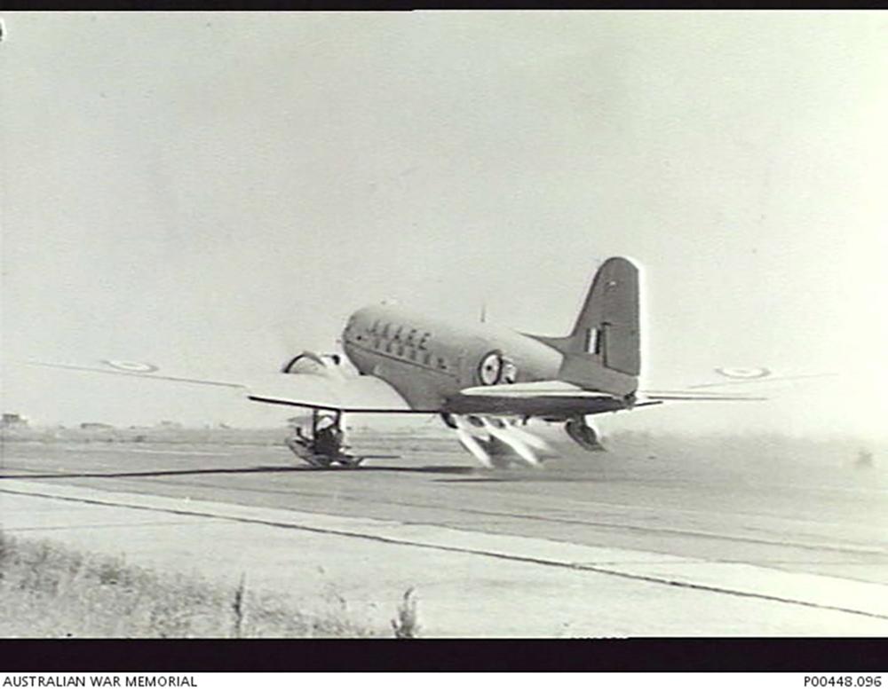 Crashlocatie C-47B-30-DK Dakota A65-92