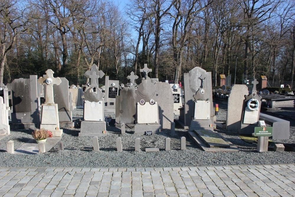 Belgische Oorlogsgraven Berlare