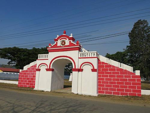 Begraafplaats Portugese Slachtoffers Bloedbad Aileu