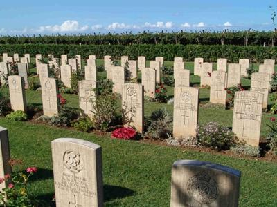 Commonwealth War Cemetery Bari