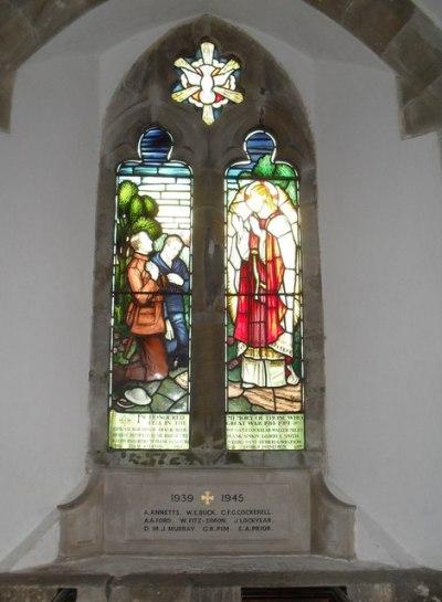 War Memorial St James Church