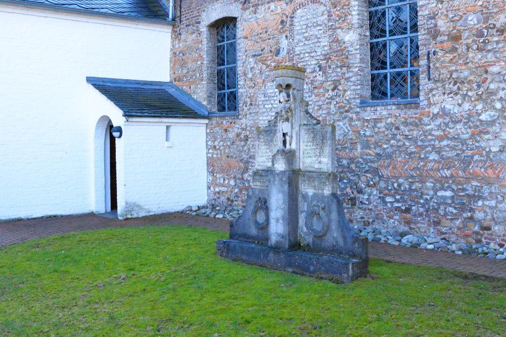 Oorlogsmonument Kerk Orsbeck