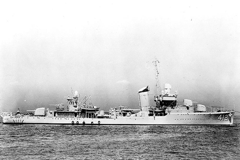 Ship Wreck U.S.S. Hammann (DD-412)