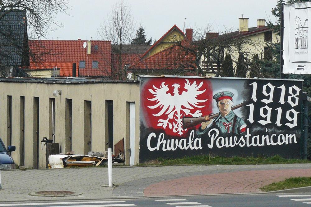 Muurschildering Wielkopolska Opstand