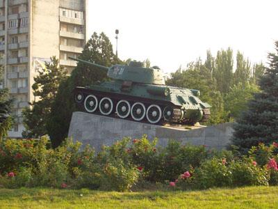 Liberation Memorial (T-34/85 Tank) Armyansk
