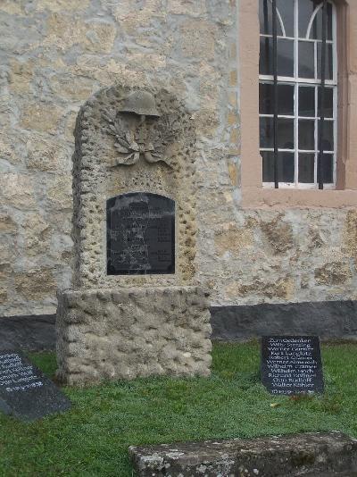 Oorlogsmonument Ettenhausen