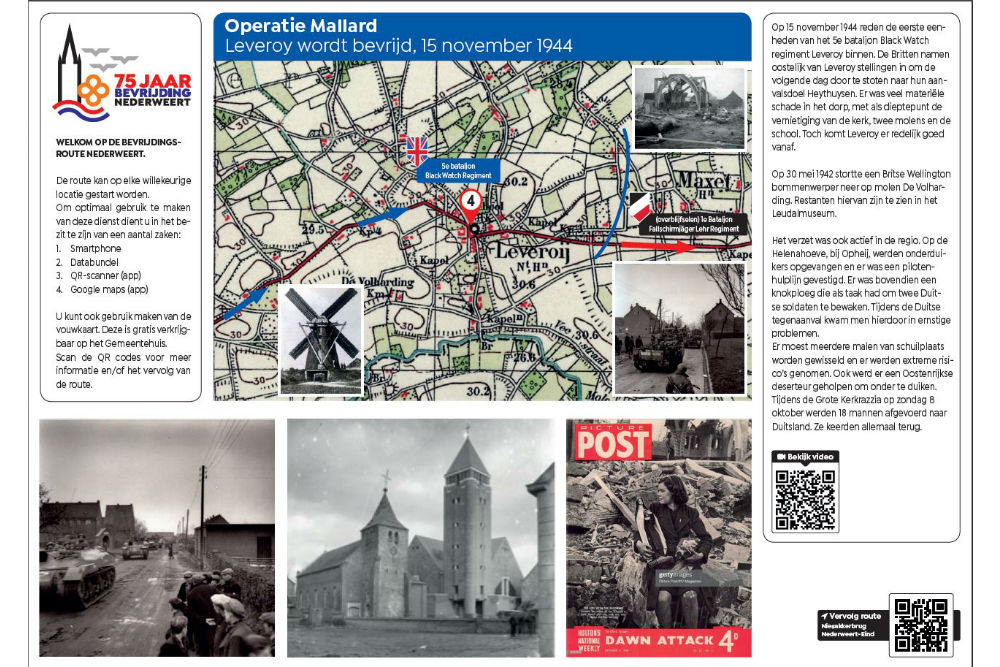 Liberation Route Location 4 - Operation Mallard Leveroy