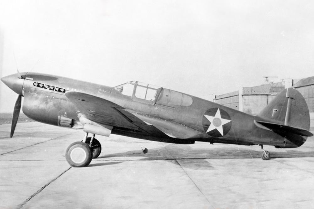 Crashlocatie P-40F Warhawks