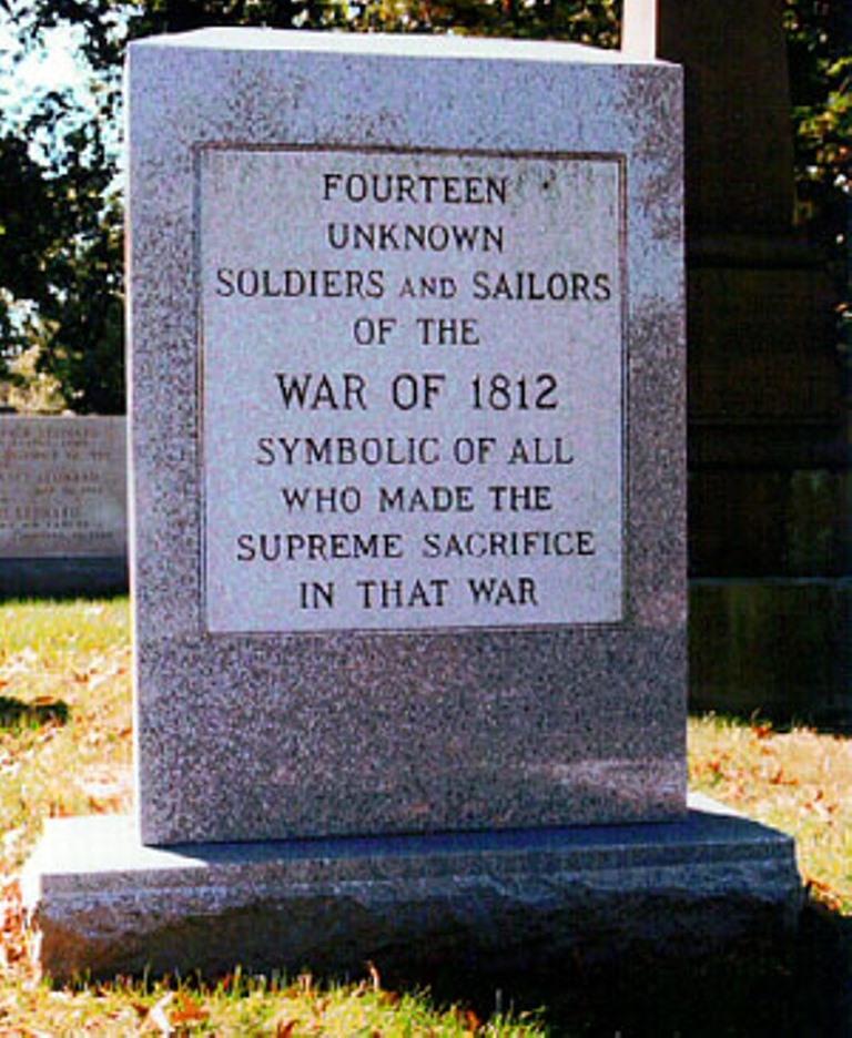Monument Onbekende Slachtoffers Oorlog van 1812