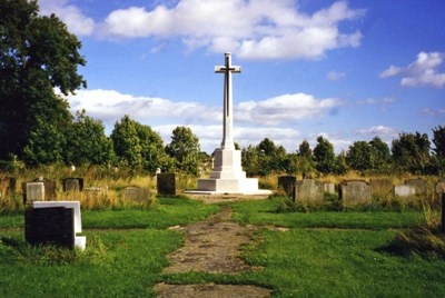 Commonwealth War Graves York Cemetery