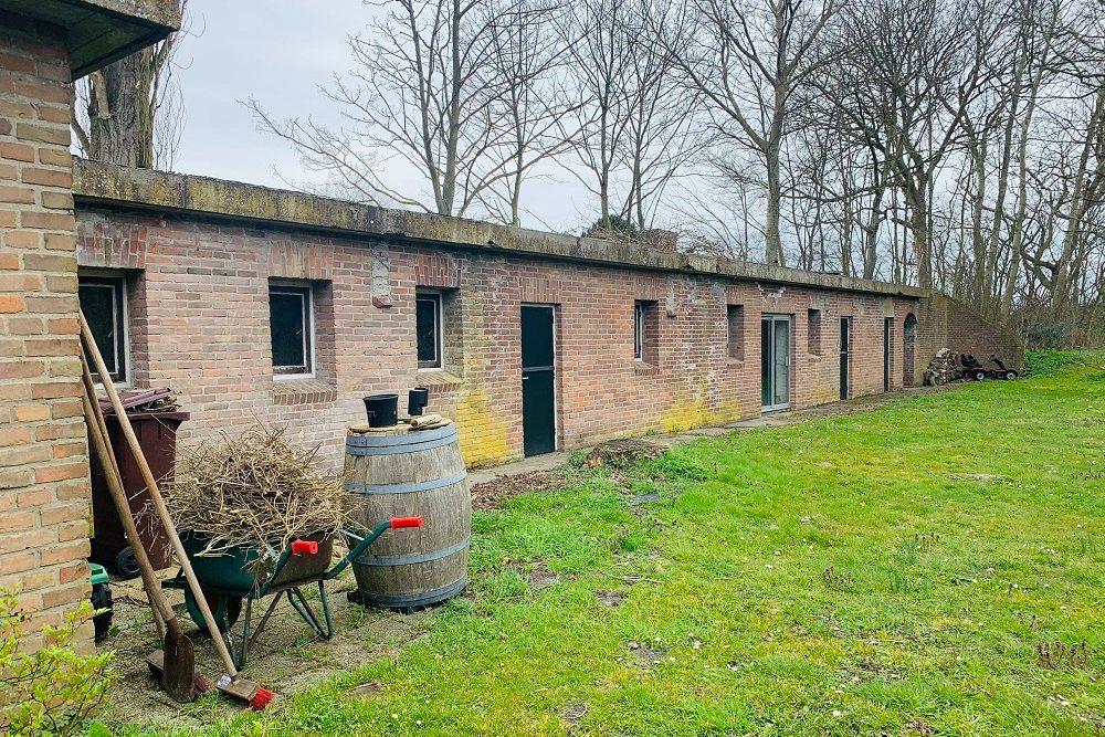 Duitse Bunker Type FA Kantine Goedereede