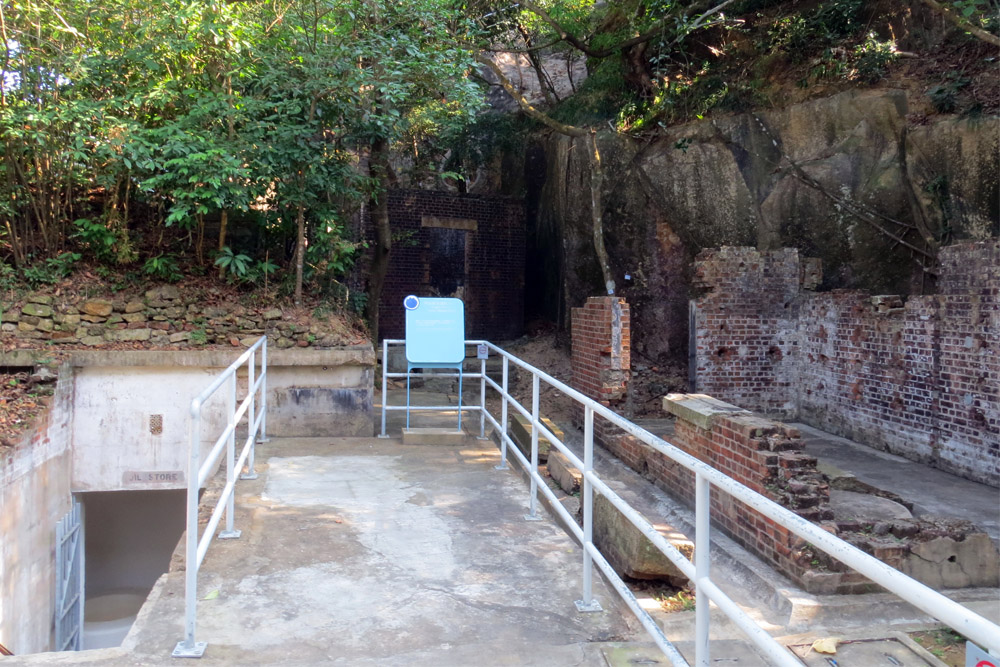 Historical Trail - Fort Lei Yue Mun
