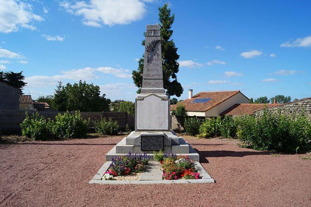 War Memorial Vix