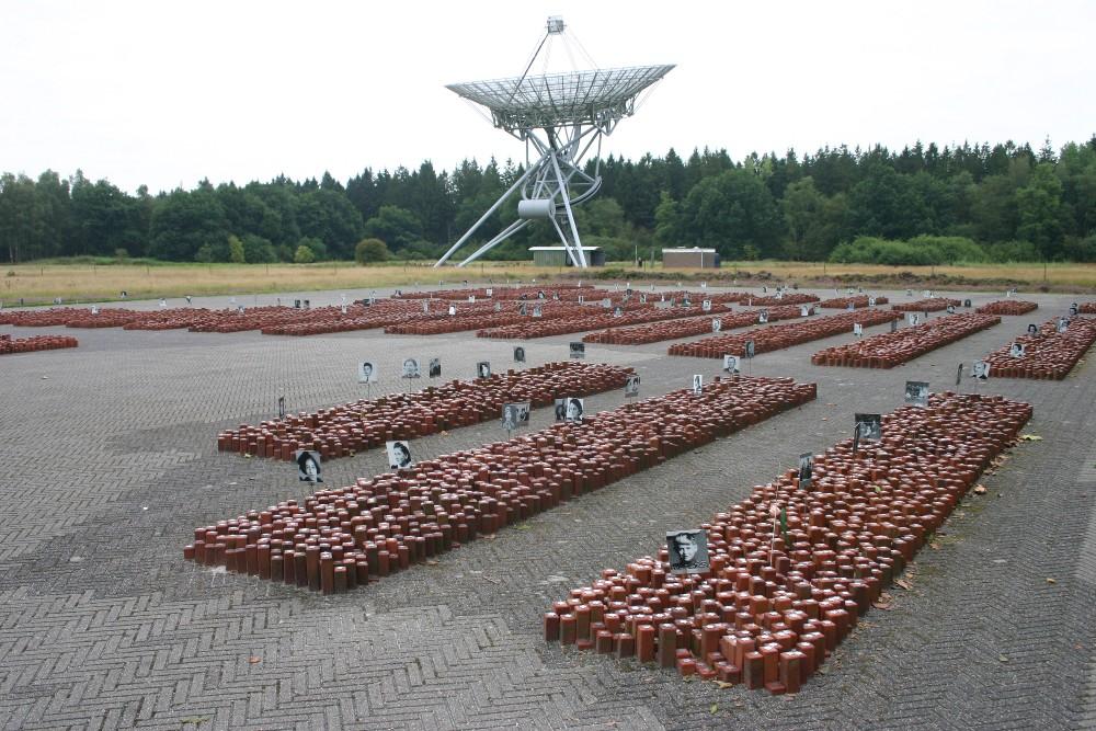 Memorial 102.000 Stones Camp Westerbork