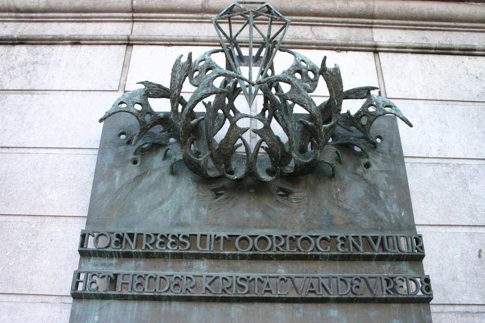 Plaque City Hall Groningen