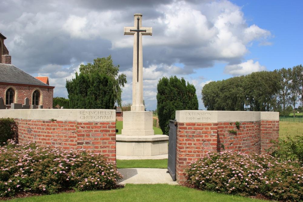 Oorlogsgraven van het Gemenebest Reningelst Extension