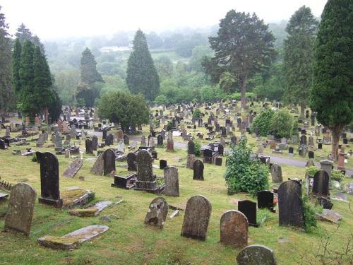 Commonwealth War Graves Cefn Coed Cemetery