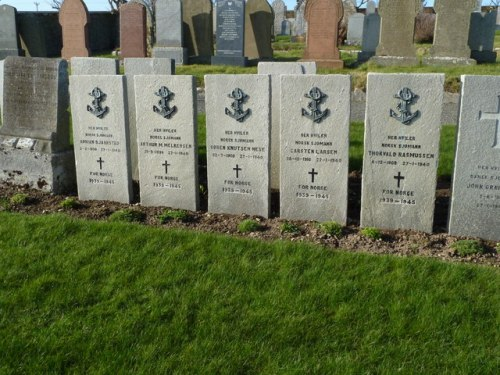 Norwegian War Graves St Olaf's Cemetery