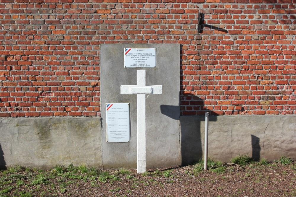 Memoriaal Gesneuvelde Franse Soldaten Tilly
