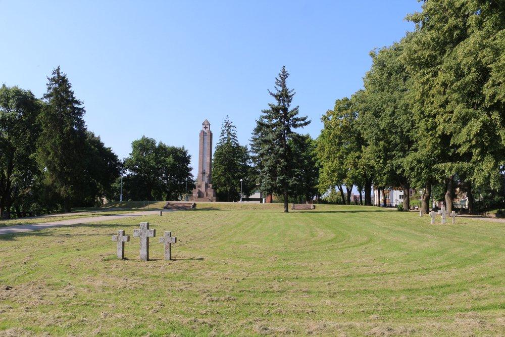 Duitse Oorlogsbegraafplaats Schaulen / Siauliai
