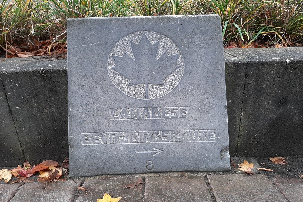 Marker No. 8 Canadian Liberation Route