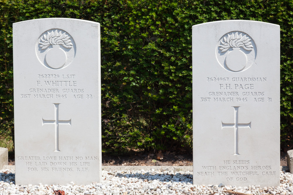 Commonwealth War Graves Protestant Cemetery Eibergen