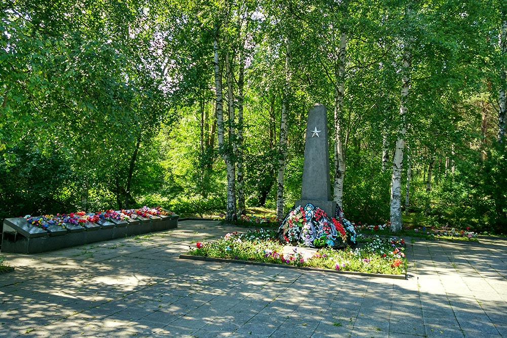 Mass Grave Soviet Soldiers Petrozavodsk