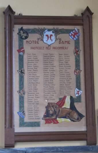 Plaque Killed Prisoners Vielsalm