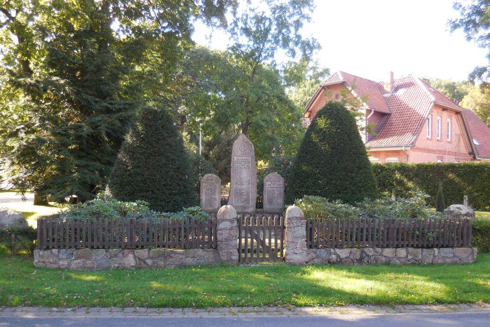 War memorial Becklingen